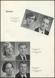 Page 17, 1958 Edition, Old Kentucky Home High School - New Crusader Yearbook (Bardstown, KY) online yearbook collection