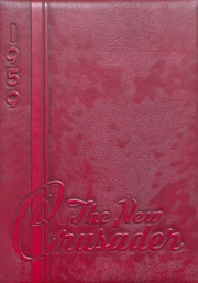 1959 Edition, Old Kentucky Home High School - New Crusader Yearbook (Bardstown, KY)