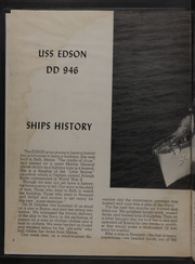 Page 4, 1959 Edition, Edson (DD 946) - Naval Cruise Book online yearbook collection