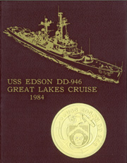Page 1, 1984 Edition, Edson (DD 946) - Naval Cruise Book online yearbook collection