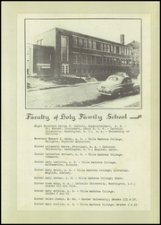 Page 15, 1951 Edition, Holy Family High School - Carrollan Yearbook (Ashland, KY) online yearbook collection