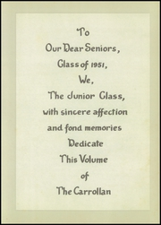 Page 9, 1951 Edition, Holy Family High School - Carrollan Yearbook (Ashland, KY) online yearbook collection