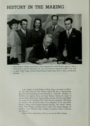 Page 10, 1946 Edition, University of California Santa Barbara - La Cumbre Yearbook (Santa Barbara, CA) online yearbook collection