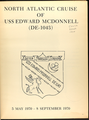 Page 5, 1970 Edition, Edward McDonnell (FF 1043) - Naval Cruise Book online yearbook collection