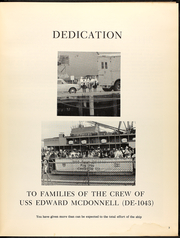 Page 7, 1970 Edition, Edward McDonnell (FF 1043) - Naval Cruise Book online yearbook collection