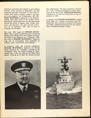 Page 9, 1970 Edition, Edward McDonnell (FF 1043) - Naval Cruise Book online yearbook collection
