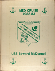 1983 Edition, Edward McDonnell (FF 1043) - Naval Cruise Book