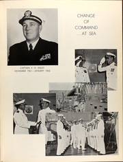 Page 13, 1962 Edition, Eldorado (AGC 11) - Naval Cruise Book online yearbook collection