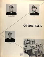 Page 17, 1962 Edition, Eldorado (AGC 11) - Naval Cruise Book online yearbook collection