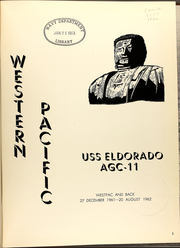 Page 5, 1962 Edition, Eldorado (AGC 11) - Naval Cruise Book online yearbook collection