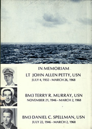 Page 6, 1969 Edition, Eldorado (AGC 11) - Naval Cruise Book online yearbook collection