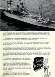 Page 9, 1969 Edition, Eldorado (AGC 11) - Naval Cruise Book online yearbook collection