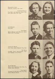Page 15, 1939 Edition, Barret Manual Training High School - Revue Yearbook (Henderson, KY) online yearbook collection
