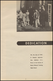 Page 7, 1947 Edition, Barret Manual Training High School - Revue Yearbook (Henderson, KY) online yearbook collection
