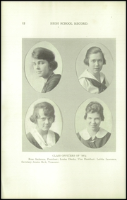Page 14, 1918 Edition, Louisville Girls High School - Record Yearbook (Louisville, KY) online yearbook collection