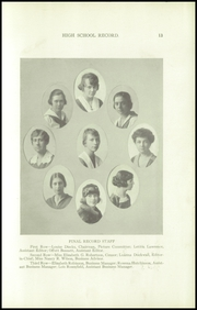 Page 15, 1918 Edition, Louisville Girls High School - Record Yearbook (Louisville, KY) online yearbook collection