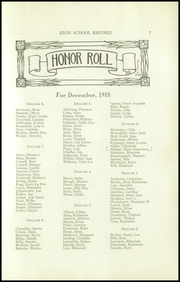 Page 9, 1918 Edition, Louisville Girls High School - Record Yearbook (Louisville, KY) online yearbook collection