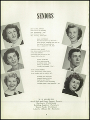 Page 12, 1952 Edition, Hustonville High School - Annual Yearbook (Hustonville, KY) online yearbook collection