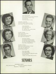 Page 14, 1952 Edition, Hustonville High School - Annual Yearbook (Hustonville, KY) online yearbook collection