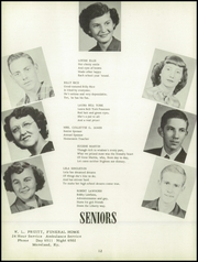 Page 16, 1952 Edition, Hustonville High School - Annual Yearbook (Hustonville, KY) online yearbook collection