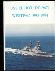 1994 Edition, Elliot (DD 967) - Naval Cruise Book