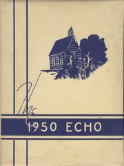 1950 Edition, Flat Gap High School - Echo Yearbook (Flat Gap, KY)