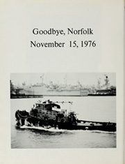 Page 10, 1977 Edition, El Paso (LKA 117) - Naval Cruise Book online yearbook collection