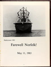 Page 13, 1983 Edition, El Paso (LKA 117) - Naval Cruise Book online yearbook collection