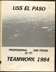 Page 3, 1984 Edition, El Paso (LKA 117) - Naval Cruise Book online yearbook collection