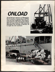 Page 8, 1984 Edition, El Paso (LKA 117) - Naval Cruise Book online yearbook collection