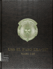 1986 Edition, El Paso (LKA 117) - Naval Cruise Book