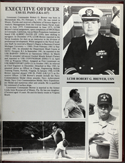 Page 11, 1988 Edition, El Paso (LKA 117) - Naval Cruise Book online yearbook collection