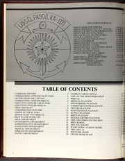 Page 6, 1988 Edition, El Paso (LKA 117) - Naval Cruise Book online yearbook collection