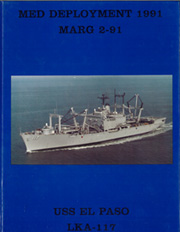 1991 Edition, El Paso (LKA 117) - Naval Cruise Book