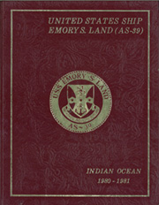 1981 Edition, Emory Land (AS 39) - Naval Cruise Book