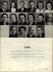 Page 10, 1944 Edition, Garth High School - Green and White Yearbook (Georgetown, KY) online yearbook collection