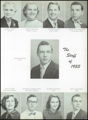 Page 11, 1953 Edition, Garth High School - Green and White Yearbook (Georgetown, KY) online yearbook collection