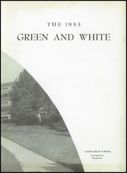 Page 7, 1953 Edition, Garth High School - Green and White Yearbook (Georgetown, KY) online yearbook collection