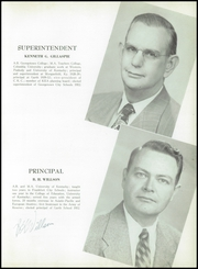 Page 9, 1953 Edition, Garth High School - Green and White Yearbook (Georgetown, KY) online yearbook collection