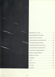 Page 9, 1967 Edition, England (DLG 22) - Naval Cruise Book online yearbook collection