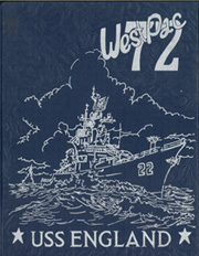 1972 Edition, England (DLG 22) - Naval Cruise Book