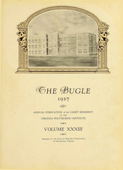 Page 8, 1927 Edition, Virginia Polytechnic Institute - Bugle Yearbook (Blacksburg, VA) online yearbook collection