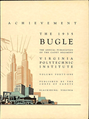 Page 9, 1935 Edition, Virginia Polytechnic Institute - Bugle Yearbook (Blacksburg, VA) online yearbook collection
