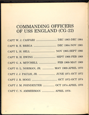 Page 8, 1978 Edition, England (CG 22) - Naval Cruise Book online yearbook collection