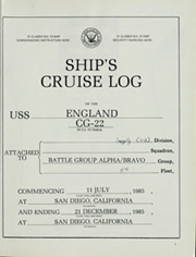 Page 5, 1985 Edition, England (CG 22) - Naval Cruise Book online yearbook collection