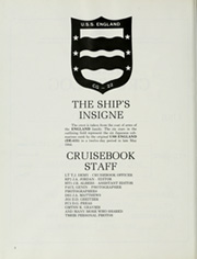 Page 6, 1985 Edition, England (CG 22) - Naval Cruise Book online yearbook collection