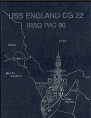 Page 1, 1990 Edition, England (CG 22) - Naval Cruise Book online yearbook collection
