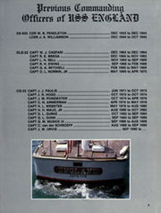 Page 7, 1990 Edition, England (CG 22) - Naval Cruise Book online yearbook collection