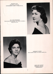 Page 13, 1960 Edition, Mackville High School - Thorobred Yearbook (Mackville, KY) online yearbook collection