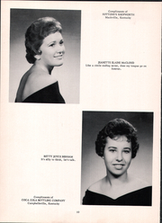 Page 14, 1960 Edition, Mackville High School - Thorobred Yearbook (Mackville, KY) online yearbook collection